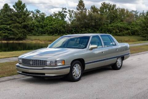 1996 Cadillac DeVille for sale at Classic Car Deals in Cadillac MI
