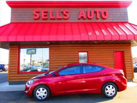 2016 Hyundai Elantra for sale at Sells Auto INC in Saint Cloud MN