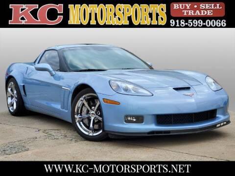 2012 Chevrolet Corvette for sale at KC MOTORSPORTS in Tulsa OK