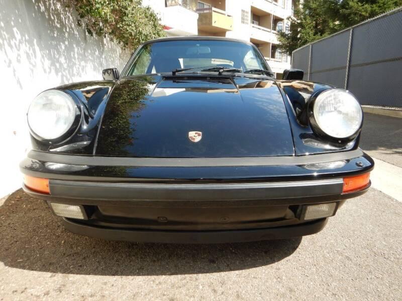1987 Porsche 911 Carrera Turbo 2dr Coupe - Los Angeles CA