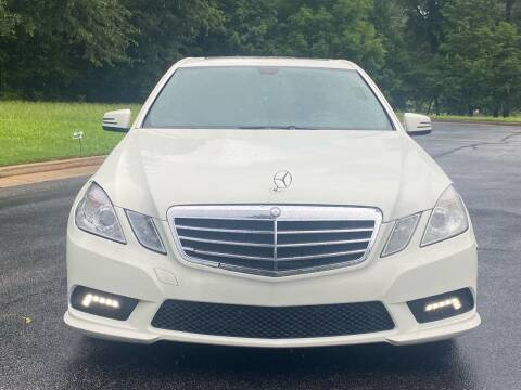 2011 Mercedes-Benz E-Class for sale at Top Notch Luxury Motors in Decatur GA