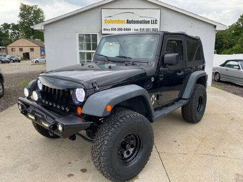 2007 Jeep Wrangler for sale at COLUMBUS AUTOMOTIVE in Reynoldsburg OH