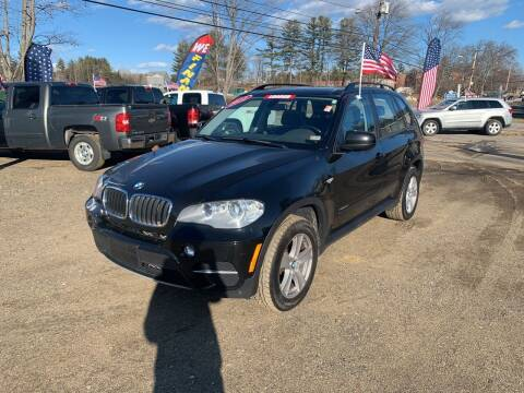 2012 BMW X5 for sale at Winner's Circle Auto Sales in Tilton NH