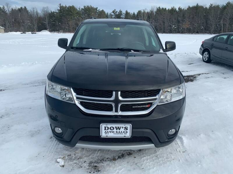 2016 Dodge Journey for sale at DOW'S AUTO SALES in Palmyra ME
