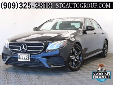 2018 Mercedes-Benz E-Class for sale at STG Auto Group in Montclair CA