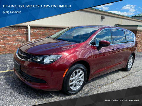 2018 Chrysler Pacifica for sale at DISTINCTIVE MOTOR CARS UNLIMITED in Johnston RI