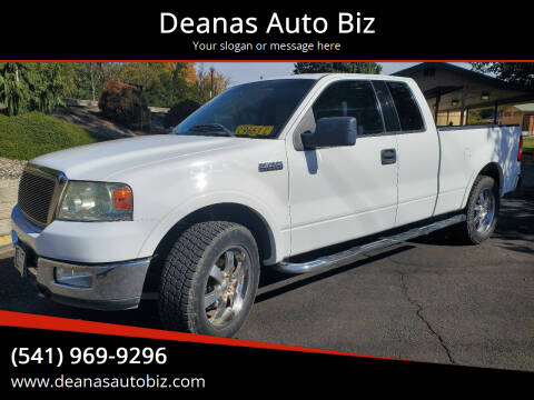 2004 Ford F-150 for sale at Deanas Auto Biz in Pendleton OR