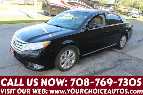 2011 Toyota Avalon for sale at Your Choice Autos in Posen IL
