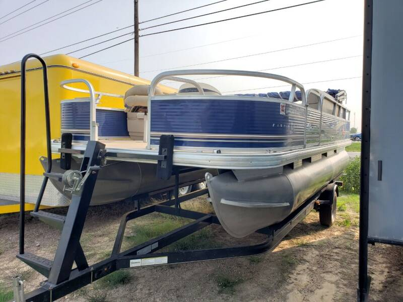 2013 Tracker Fishin barge for sale at Ultimate RV in White Settlement TX