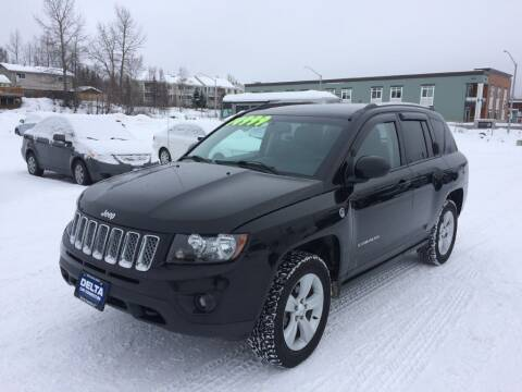 2014 Jeep Compass for sale at Delta Car Connection LLC in Anchorage AK