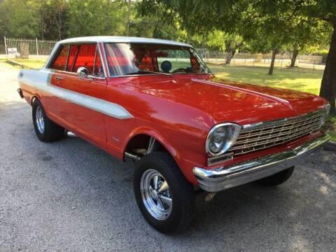 1962 Chevrolet Nova for sale at Classic Car Deals in Cadillac MI