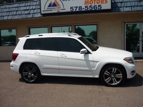 2013 Mercedes-Benz GLK for sale at Mountain View Motors Inc in Colorado Springs CO
