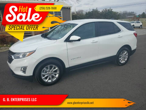 2021 Chevrolet Equinox for sale at G. B. ENTERPRISES LLC in Crossville AL