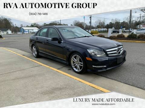 2012 Mercedes-Benz C-Class for sale at RVA Automotive Group in North Chesterfield VA