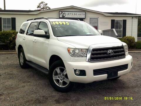 2012 Toyota Sequoia for sale at Let's Go Auto in Florence SC
