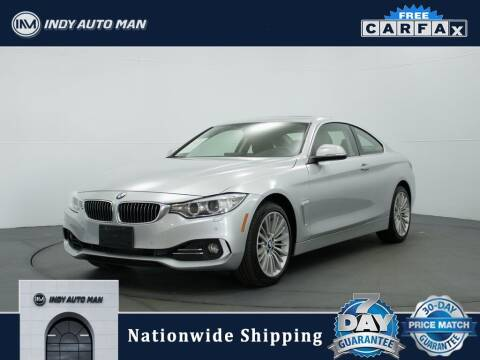2014 BMW 4 Series for sale at INDY AUTO MAN in Indianapolis IN