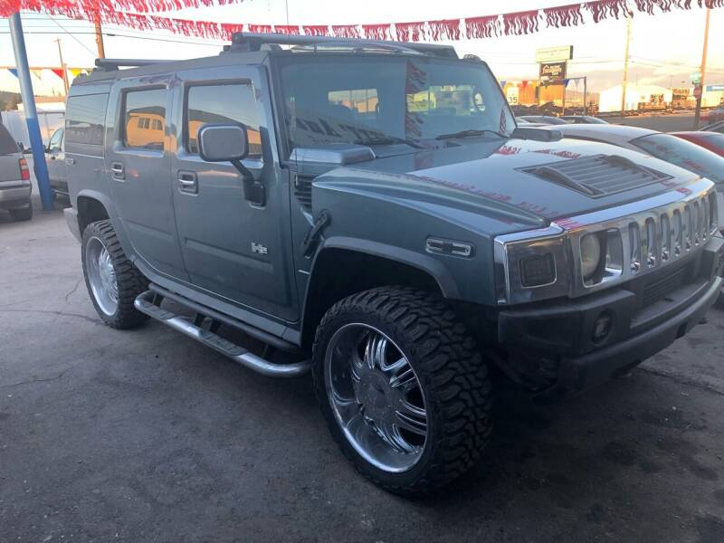 2005 HUMMER H2 for sale at TTT Auto Sales in Spokane WA