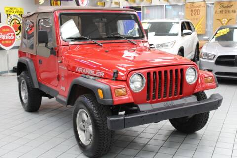 1997 Jeep Wrangler for sale at Windy City Motors in Chicago IL