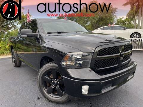 2018 RAM Ram Pickup 1500 for sale at AUTOSHOW SALES & SERVICE in Plantation FL