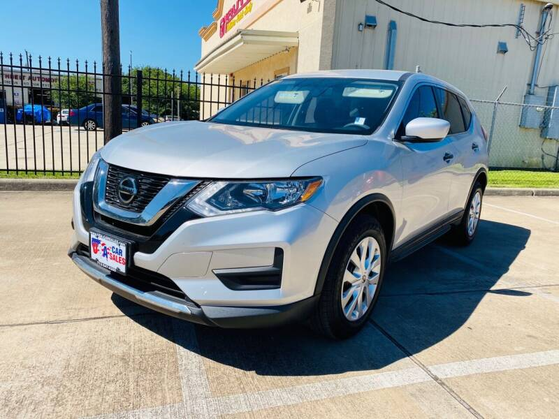 2018 Nissan Rogue for sale at HOUSTON CAR SALES INC in Houston TX