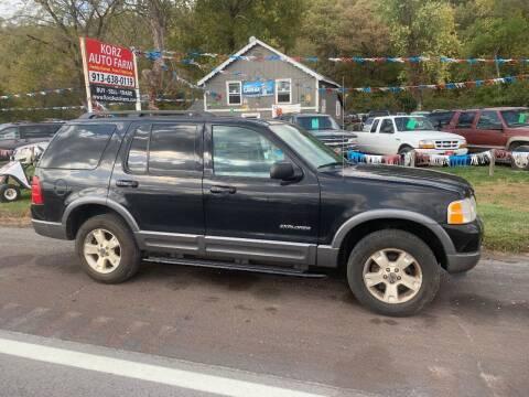 2004 Ford Explorer for sale at Korz Auto Farm in Kansas City KS