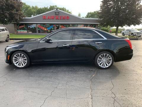 2014 Cadillac CTS for sale at Hawkins Motors Sales in Hillsdale MI