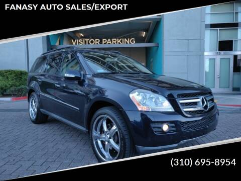 2008 Mercedes-Benz GL-Class for sale at FANASY AUTO SALES/EXPORT in Yorba Linda CA