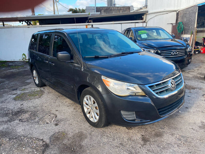 2012 Volkswagen Routan for sale at INTERNATIONAL AUTO BROKERS INC in Hollywood FL