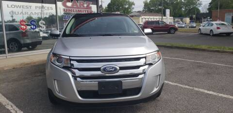 2013 Ford Edge for sale at Carz Unlimited in Richmond VA
