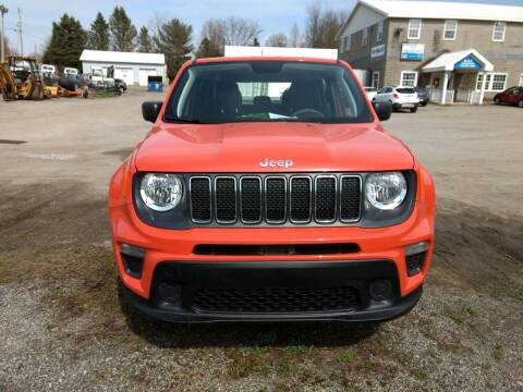2019 Jeep Renegade for sale at G & H Automotive in Mount Pleasant PA