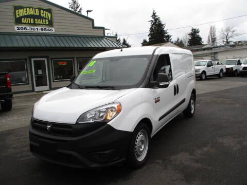 2018 RAM ProMaster City Cargo for sale at Emerald City Auto Inc in Seattle WA