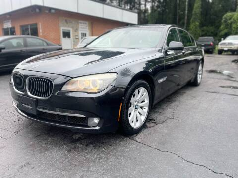 2011 BMW 7 Series for sale at Magic Motors Inc. in Snellville GA