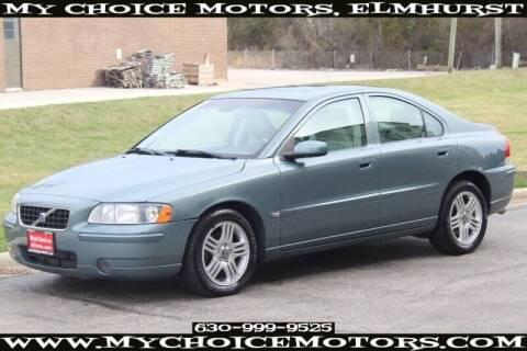 2005 Volvo S60 for sale at My Choice Motors Elmhurst in Elmhurst IL