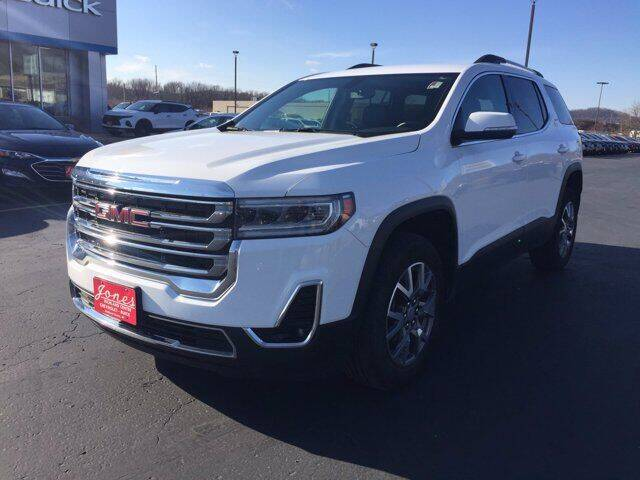 2020 GMC Acadia for sale at Jones Chevrolet Buick Cadillac in Richland Center WI