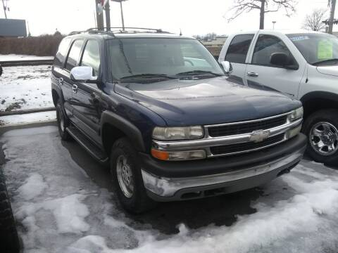 2002 Chevrolet Tahoe for sale at American Auto Group LLC in Saginaw MI