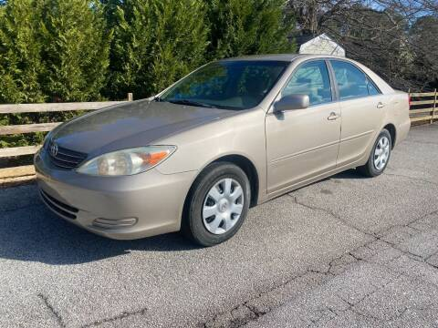 2002 Toyota Camry for sale at Front Porch Motors Inc. in Conyers GA