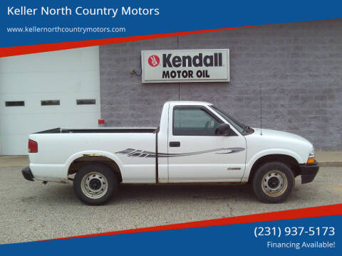 2002 Chevrolet S-10 for sale at Keller North Country Motors in Howard City MI