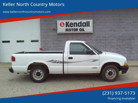 2002 Chevrolet S-10 for sale at Keller North Country Motors in Howard City MI