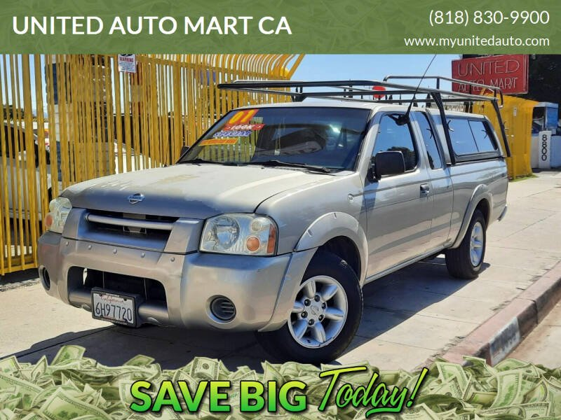 2001 Nissan Frontier for sale at UNITED AUTO MART CA in Arleta CA