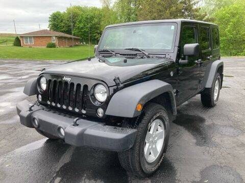 2017 Jeep Wrangler Unlimited for sale at Louisburg Garage, Inc. in Cuba City WI