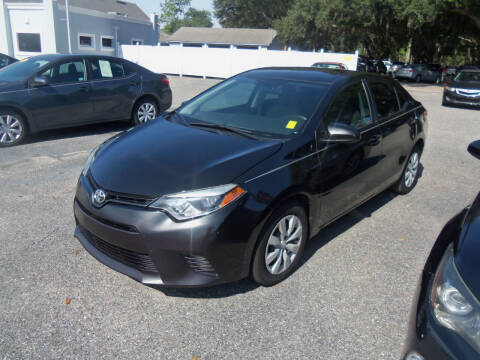 2016 Toyota Corolla for sale at ORANGE PARK AUTO in Jacksonville FL