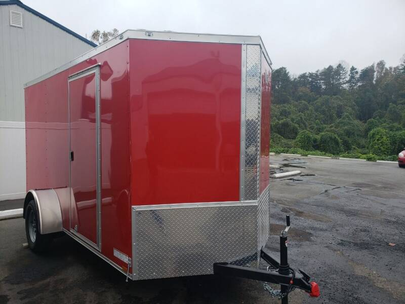 2021 6x12 Enclosed Trailer for sale at Big Daddy's Trailer Sales in Winston Salem NC