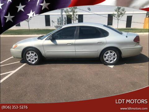 2006 Ford Taurus for sale at LDT MOTORS in Amarillo TX