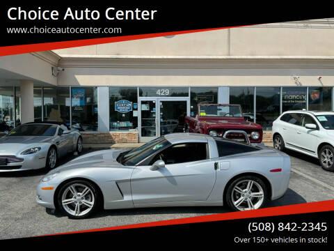 2010 Chevrolet Corvette for sale at Choice Auto Center in Shrewsbury MA