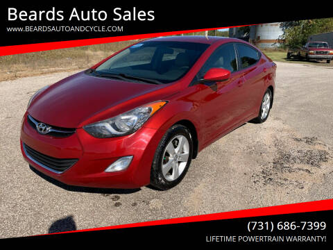 2012 Hyundai Elantra for sale at Beards Auto Sales in Milan TN