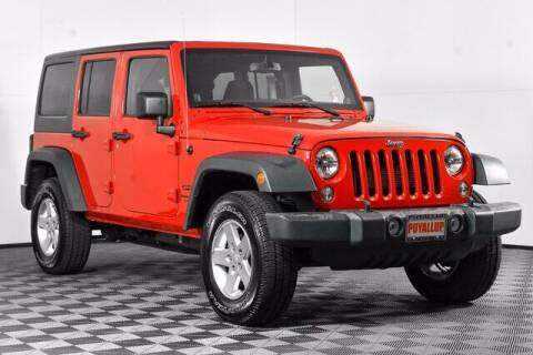 2014 Jeep Wrangler Unlimited for sale at Chevrolet Buick GMC of Puyallup in Puyallup WA