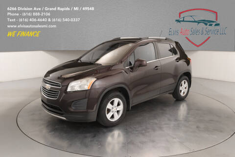 2015 Chevrolet Trax for sale at Elvis Auto Sales LLC in Grand Rapids MI