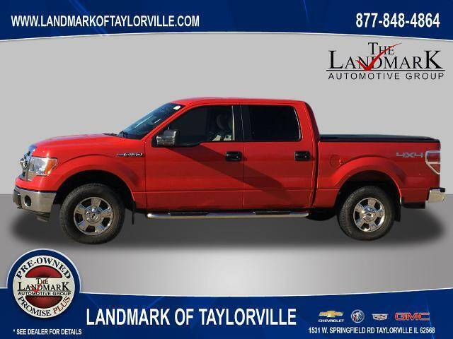 2013 Ford F-150 for sale at LANDMARK OF TAYLORVILLE in Taylorville IL