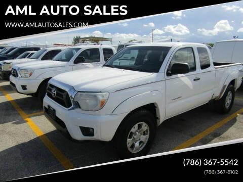 2012 Toyota Tacoma for sale at AML AUTO SALES - Pick-up Trucks in Opa-Locka FL