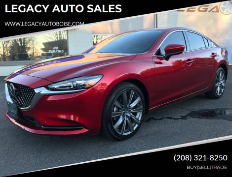 2020 Mazda MAZDA6 for sale at LEGACY AUTO SALES in Boise ID